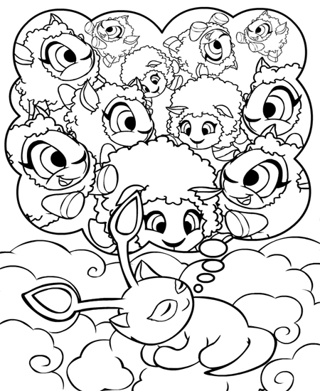 neopet faerie coloring pages - photo #15