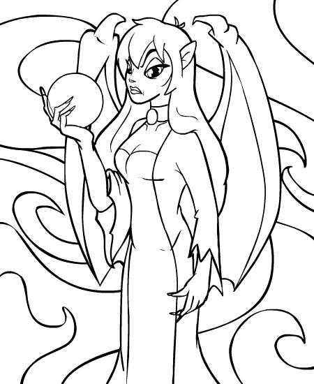 neopet faerie coloring pages - photo #1