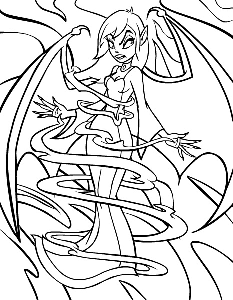 Neopets Faerieland Colouring Pages Faerie Coloring Pages
