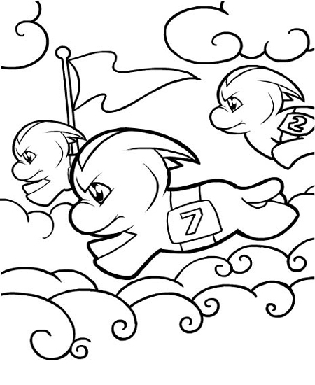 neopet faerie coloring pages - photo #33
