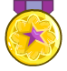50,000,000 total plays medal