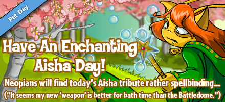 aisha day 2012 Happy Aisha Day *New Colour*