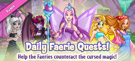 Faerie Quest Event banner