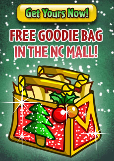 holiday tree Free Goodie bag coming up