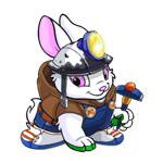 Aren't I the prettiest Cybunny you've ever seen?