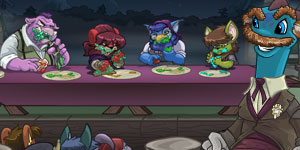 Check out The Spooky Food Eating Contest