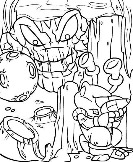 Colouring Pages Beast Quest : Beast quest epos colouring pages