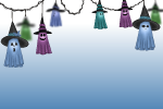 Ghoulish Ghosts Garland