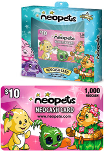 $10 Pink Neocash Card