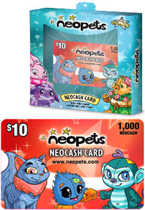 $10 Red Neocash Card