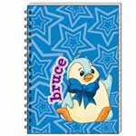 Blue Bruce Notebook