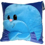 Blue Kacheek Pillow