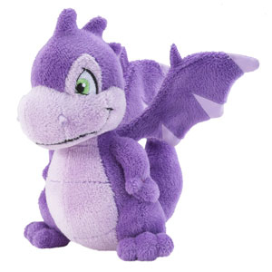 Purple Scorchio Plush