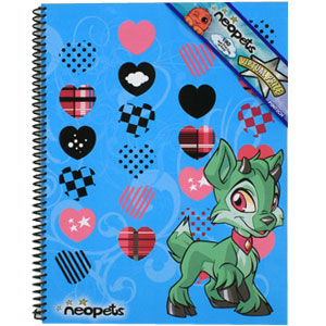 Ixi Theme Book With Hearts