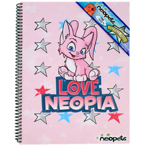 Love Neopia Theme Book