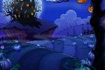 Enchanted Pumpkin Patch Background