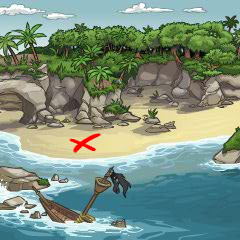 forgotten shore map